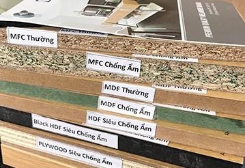cách phân biệt MFC, MDF, HDF, Picomat An Cường là gì
