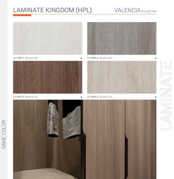 bộ sưu tập đồng màu Laminate Kingdom và MFC