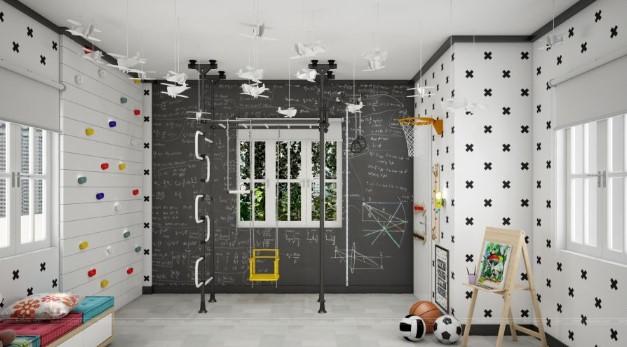 Những cách thiết kế không gian vui chơi cho trẻ trong chính ngôi nhà của bạn