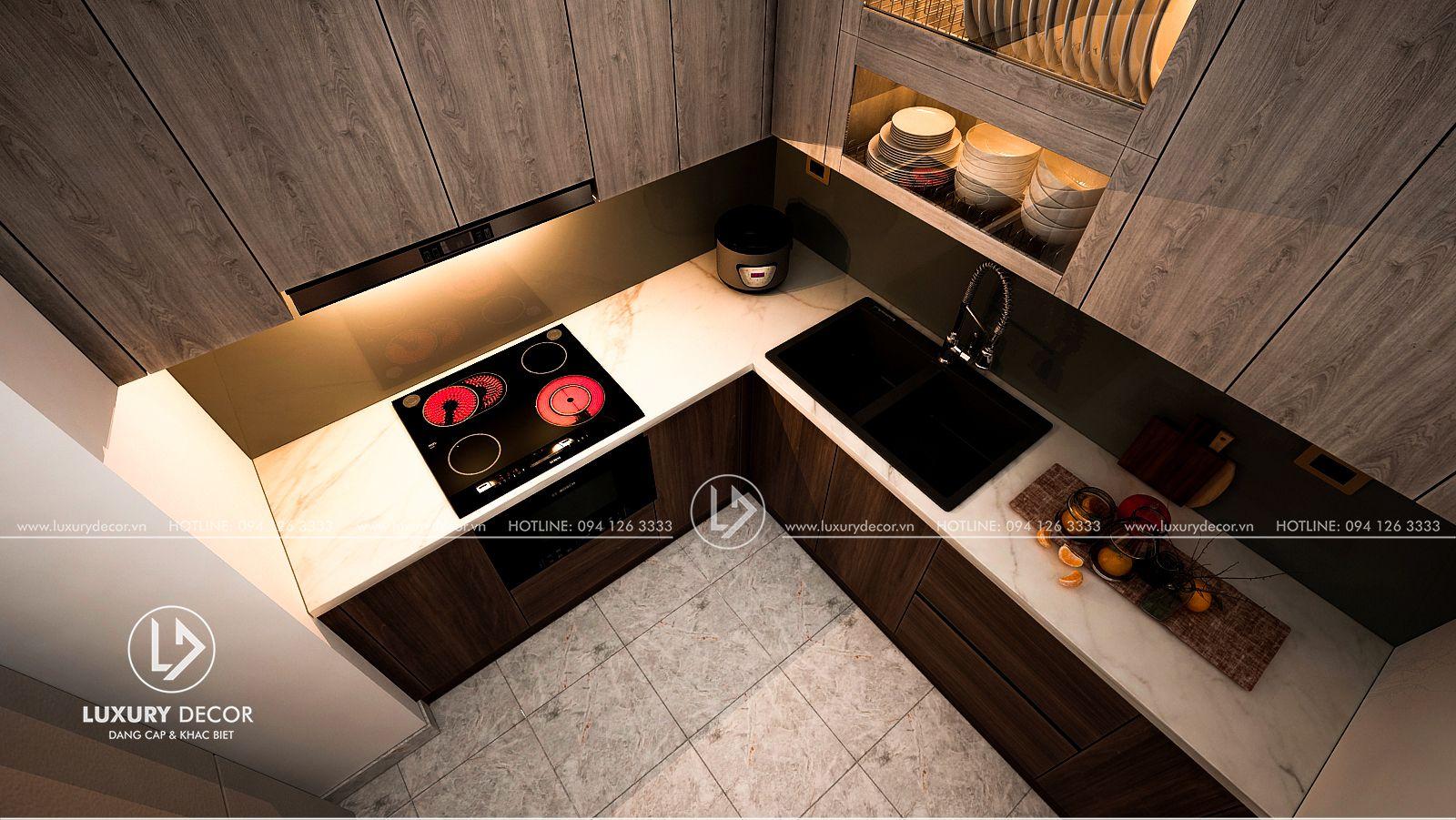Dịch vụ đóng tủ bếp tốt nhất Hà Nội
