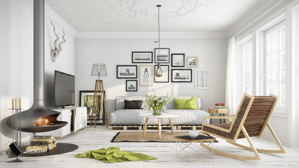 mẫu thiết kế nội thất chung cư giá rẻ