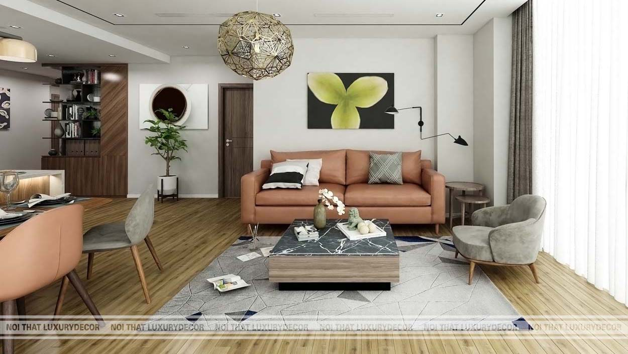 thiết kế nội thất chung cư 110m2, thiết kế nội thất căn hộ chung cư 110m2