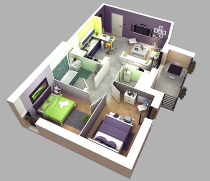 Thiết kế nội thất chung cư 65m2, Mẫu thiết kế nội thất chung cư 65m2, Thiết kế chung cư 65m2 2 phòng ngủ, Thiết kế nội that căn hộ 65m2 2 phòng ngủ, Chung cư 65m2 đẹp, Thiết kế nhà đẹp 65m2, Căn hộ màu 65m2, Thiết kế nhà ống 2 tầng 65m2, Mẫu nhà 65m2,