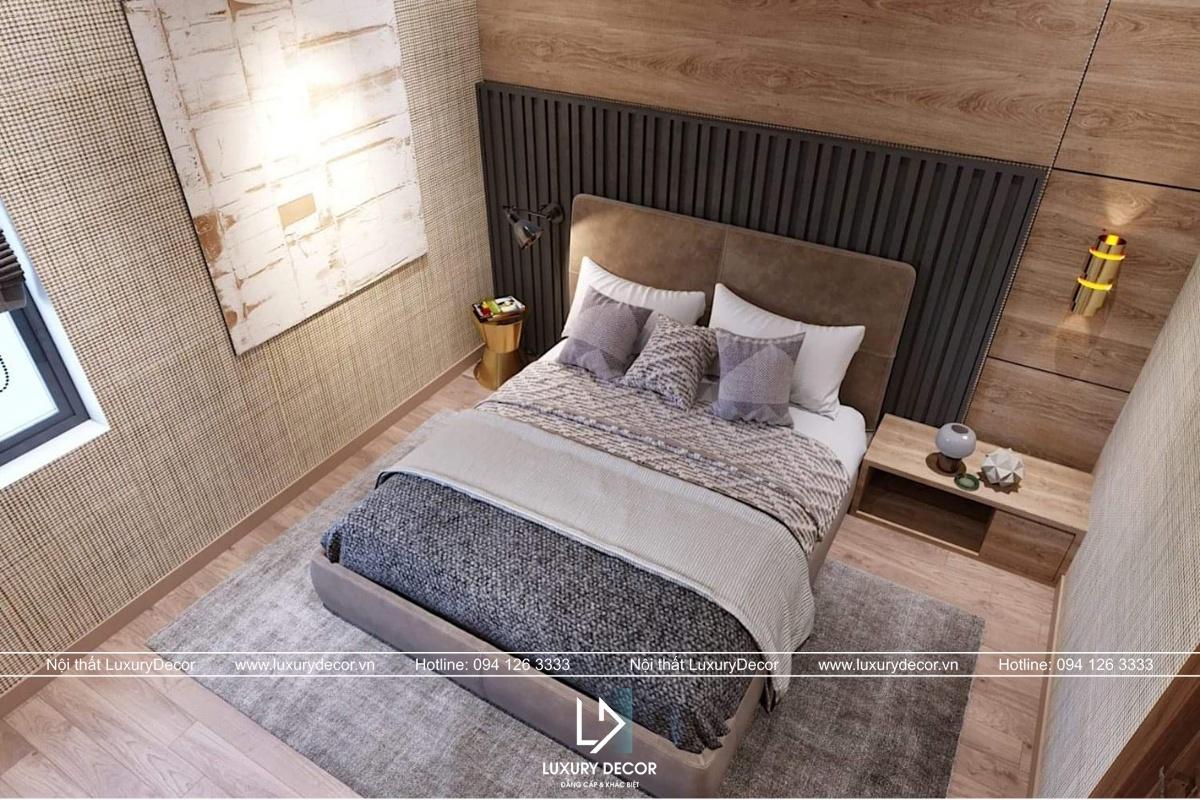 Kiểu dáng nội thất phòng khách biệt thự đẹp với vị trí trung tâm ngôi nhà